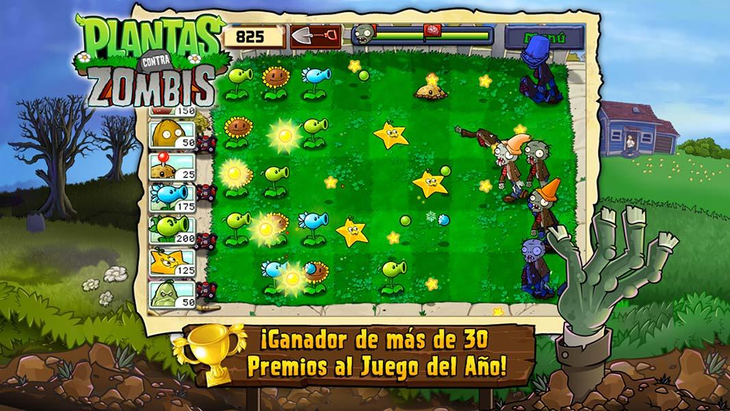 Plantas contra Zombies Descargar Gratis para PC en español completo