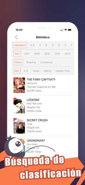 app para leer manga en español
