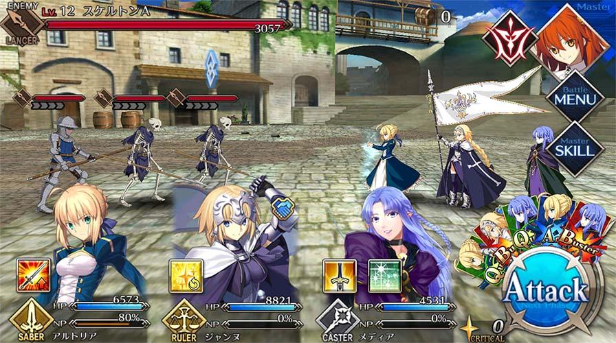 """Resultado de imagen para Fate/Grand Order juego"""""""